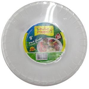 Mapco Foam Plates 9 Inch 25pc