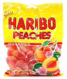 Haribo Peach Candy 160g