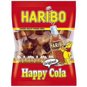 Haribo Sour Happy Cola 160gm