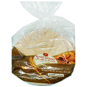 Royal Bakers Arabic Bread Brown Small 160g