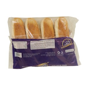 Royal Bakery White Bread Rolls 4pc