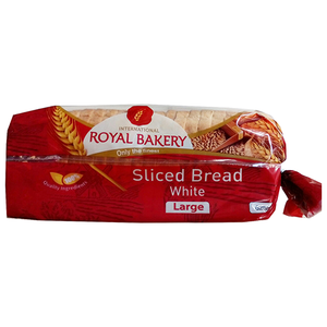 Royal Bakery Sliced White Bread 1pkt