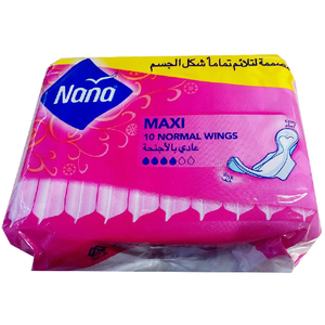 Nana Maxi Normal with Wings 10pc