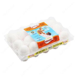 Khaleej White Eggs Large 15pcs