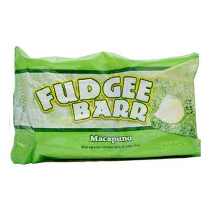 Rebisco Fudgee Bar Macapuno Cake Bar Pack 10x42g