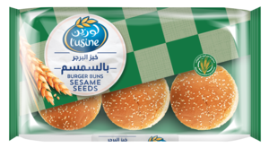 Lusine Sesame Seed Burger Buns 6pc