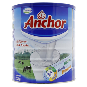 Anchor Powdered Full Cream  Milk 2.5KG