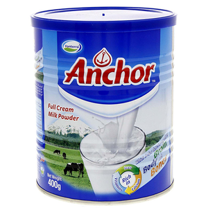 Anchor Powdered Full Cream  Milk 400g