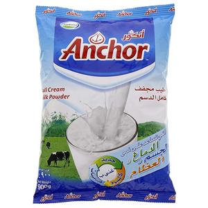Anchor Powdered Full Cream  Milk 900g