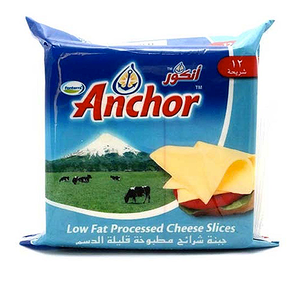 Anchor Low Fat Cheese Slices 250g