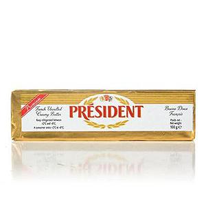 President Unsalted Butter 100g