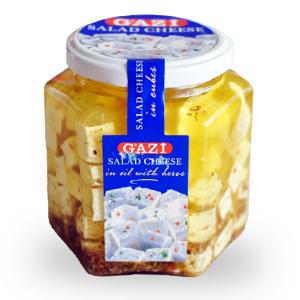 Gazi Soft Cheese in Oil 300g