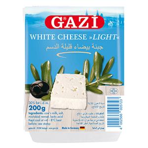 Gazi White Cheese Light 200g