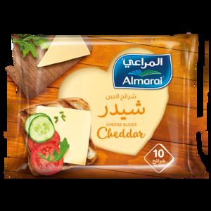 Almarai Slices Cheddar Full Fat 200g