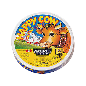 Happy Cow Processed Cheese Portions 120g