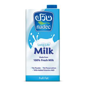 Nadec UHT Full Fat Milk 1L