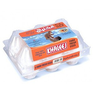 Al Khaleej Eggs Super Six 6pcs