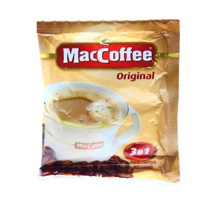 MacCoffee 3 in 1 Instant Coffee 18g