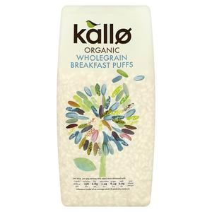 Kallo Organic Puffed Rice 225g