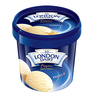 London Dairy Vanilla 125ml