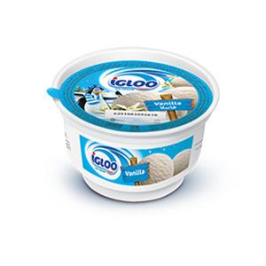 Igloo Vanilla Ice Cream Cup 125ml