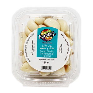 Barakat Fresh Sanitized And Peeled Garlic 250g