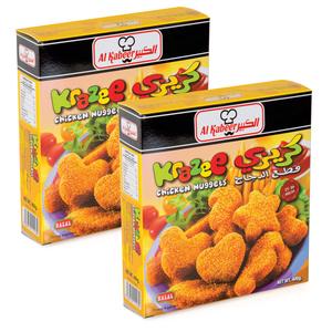 Al Kabeer Krazee Nuggets 2x400g