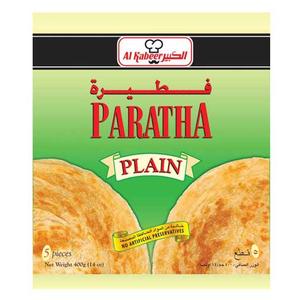 Al Kabeer Parathas Plain 400g