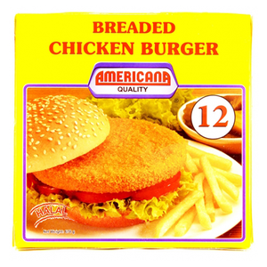 Americana Chicken Burger 678g