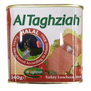 Al Taghziah Turkey Luncheon Meat 340g