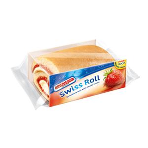 Americana Half Swiss Roll Strawberry 55g