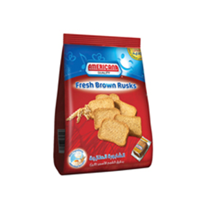 Americana Diet Rusks Red 375gm
