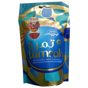 Tamrah Chocolate Coconut Zipper 100gm