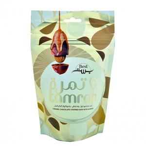 Tamrah Chocolate Caremel Zipper 100gm