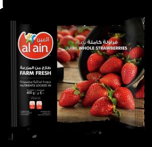Al Ain Whole Strawberry 400g