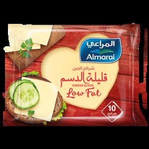 Almarai Cheddar Cheese Low Fat Slices 200g