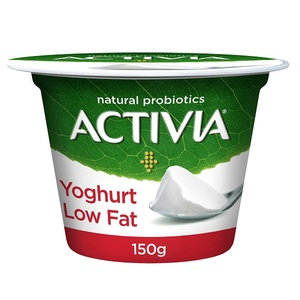 Activia Low Fat Yoghurt Set 150g