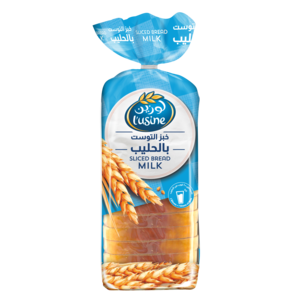 Lusine Bread Sliced Milk 600g