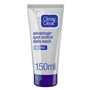 Clean & Clear Daily Face Wash Advantage Spot Control 150ml
