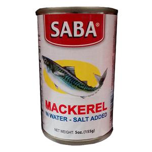 Saba Mackerel in Water 155g