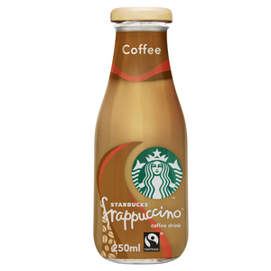 Starbucks Frappuccino Coffee Flavour Lowfat Coffee Drink Bottle 250ml