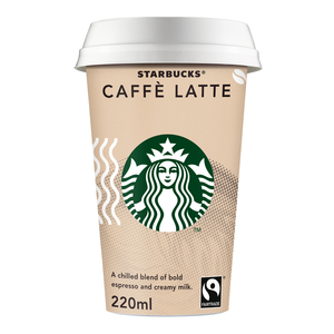Starbucks Chilled Classics Caffe Latte Coffee Drink 220ml