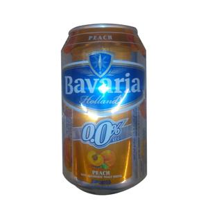 Bavaria Peach malt drink 330 ml