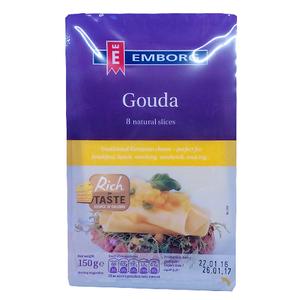 Emborg Gouda Cheese Slices 150g