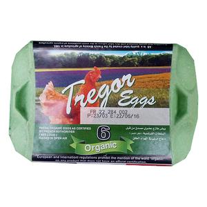 Tregor Organic Fresh Eggs Medium Size 6s