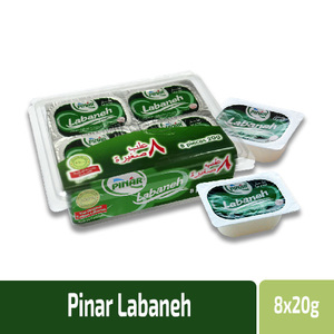 Pinar Labneh Cream Mini Protion 8x20g