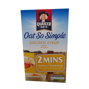 Quaker Oat So Simple Golden Syrup 360g