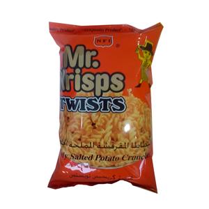 Mr.Krisps Potato Twists Natural Salted Flavor 80g