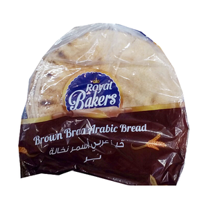 Royal Bakers Arabic Bread Brown Medium 480g