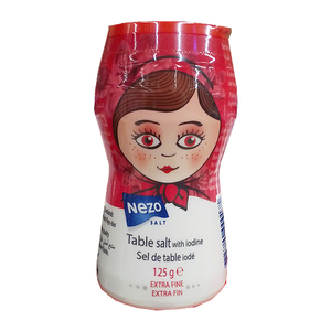 Nezo Iodized Salt Bottle 125gm